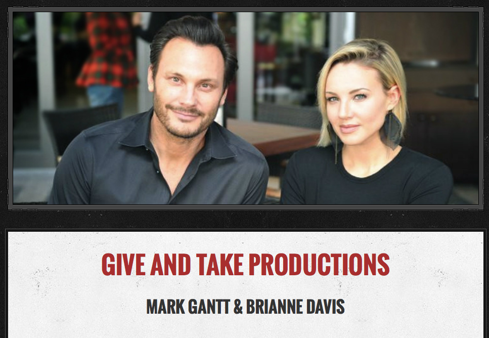 Mark Gantt and Brianne Davis